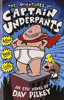 Picture of The Adventures of Captain Underpants an Epic Novel