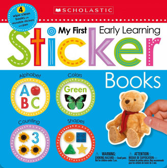 Picture of My First Early Learning Sticker Books Box Set