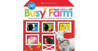 Picture of Touch, Slide and Lift: Busy Farm