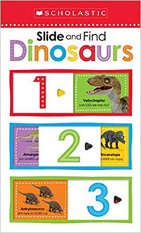 Picture of Dinosaurs 123: (Slide and Find)