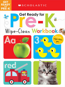 Picture of Get Ready for Pre-K Wipe-Clean Workbook