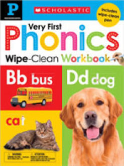 Picture of My Very First Phonics Wipe Clean Workbook Pre-K