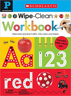 Picture of Pre-K Wipe-Clean Workbook