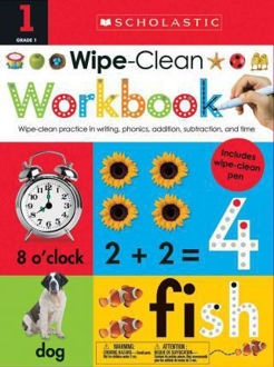 Picture of First Grade Wipe-Clean Workbook