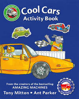 Picture of AMAZING MACHINES COOL CARS ACTIVITY BOOK