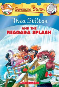 Picture of Geronimo Stilton Thea Stilton And The Niagara Splash