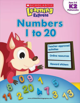 Picture of Scholastic Learning Express: Numbers 1 to 20: Grades K–2