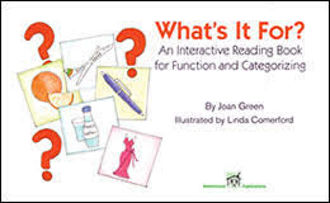 Picture of WHAT'S IT FOR An Interactive Reading Book