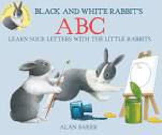 Picture of BLACK AND WHITE RABBIT'S ABC