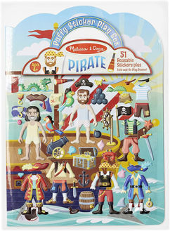 Picture of Puffy Stickers Play Set - Pirate