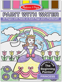 Picture of Paint with Water  Princess