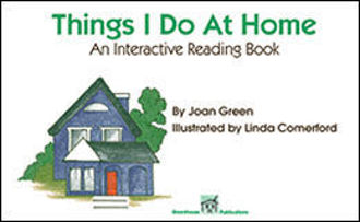 Picture of THINGS I DO AT HOME An Interactive reading Book