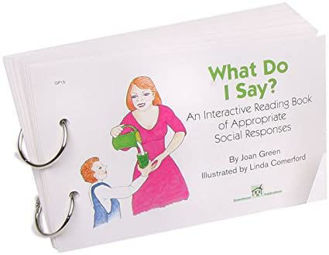 Picture of WHAT DO I SAY An Interactive Reading Book