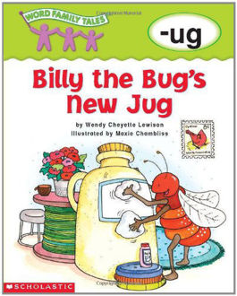 Picture of Word Family Tales Billy the Bug's new Jug
