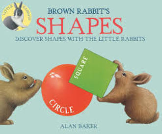 Picture of BROWN RABBIT'S SHAPES