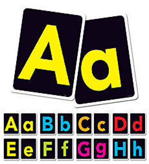 Picture of Big Letters A-Z Bulletin board