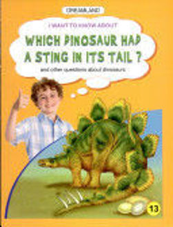 Picture of I want to know about Which Dinosaur had A Sting in its Tail?