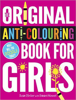 Picture of Original Anti-Colouring Book for Girls