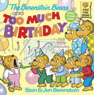 Picture of BBEARS/TOO MUCH BIRTHDAY