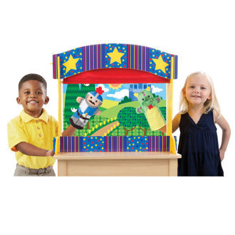 Picture of Tabletop Puppet Theater