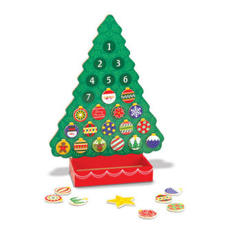 Picture of Countdown to Christmas Wooden Advent Calendar