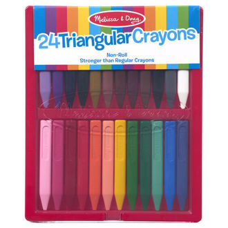 Picture of Triangular Crayons - 24 pack
