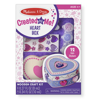 Picture of Created by Me! Heart Box