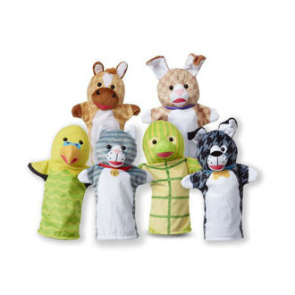 Picture of Pet Buddies Hand Puppets