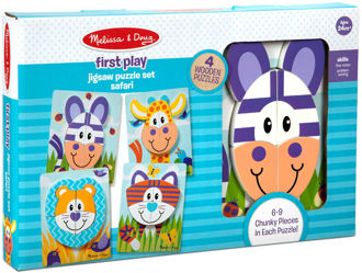 Picture of First Play Jigsaw Puzzle Set Safari