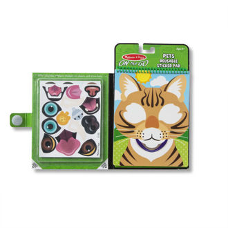 Picture of Make-a-Face Pets Reusable Sticker Pad