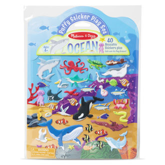 Picture of Puffy Sticker Play Set- Ocean