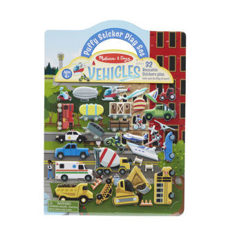 Picture of Puffy Sticker Play Set- Vehicles