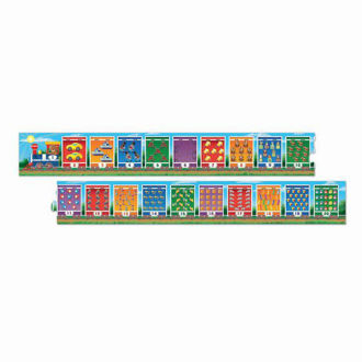 Picture of Number Train Floor Puzzle