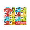 Picture of Farm Number Floor Puzzle (24 pc)