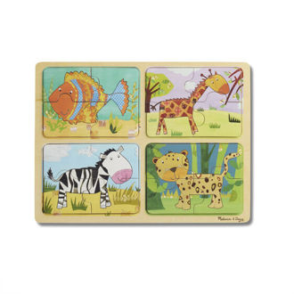 Picture of NP Wooden Puzzle: Animal Patterns