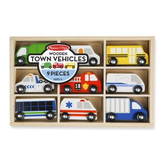 Picture of Wooden Town Vehicles