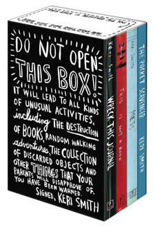 Picture of Keri Smith deluxe boxed set