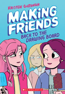Picture of MAKING friends - Back to the drawing board