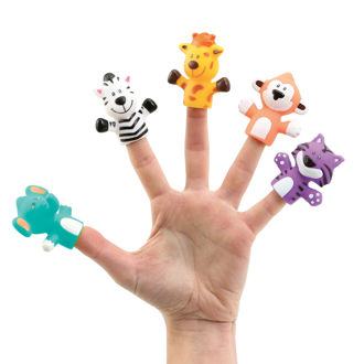 Picture of Finger Puppets Jungle - Baby Play - Ludi