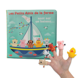 Picture of Puppets Book - Baby Play - Ludi