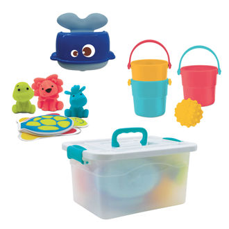 Picture of BATHING SUITCASE - Baby Play - Ludi