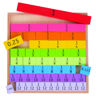 Picture of Fractions Tray - BigJigs Toys - Wooden Math Game