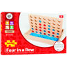 Picture of Four in a Row - Board Game - Wooden - BigJigs