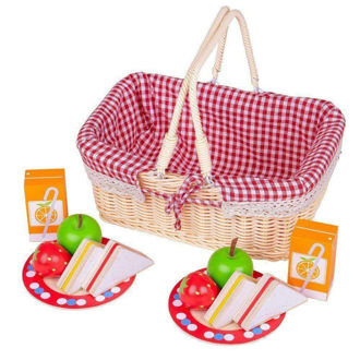 Picture of Picnic Basket - Pretend Play - BigJigs