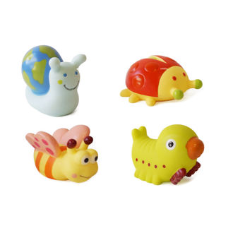 Picture of Bath Squirters Nature - Baby Play - Bath Toys - Ludi Toys