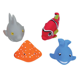 Picture of Bath Squirters  Poisson - Baby Play - Ludi Toys -Bath Toys