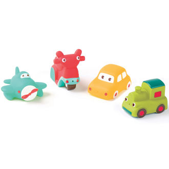 Picture of Bath Squirters Transport - Baby Play - Bath Toys - Ludi Toys