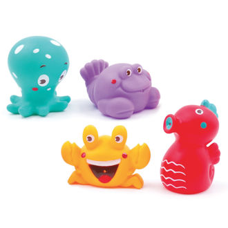 Picture of Bath Squirters Ocean - Baby Play - Bath Toys - Ludi Toys