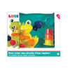 Picture of Frog Bath Set - Baby Play - Bath Toys - Ludi Toys