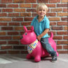 Picture of Jumping Dog Pink - Ride on - Baby Play - Ludi Toys